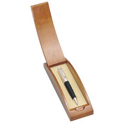 Personalized Classic Elegance Pen and Wooden Case