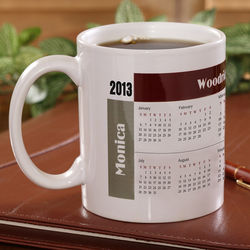 You Design It Calendar Coffee Mug
