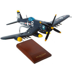 F4U-5NL Nite Corsair Airplane Model