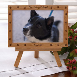 Furry Friend Personalized Pet Frame
