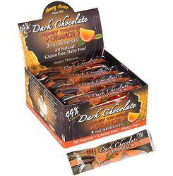 Dark Chocolate Honey Truffle Orange 3-Packs in Display Box