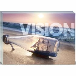 Vision Ship 5x7 Motivational Plaque