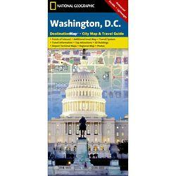 Washington DC City Destination Map