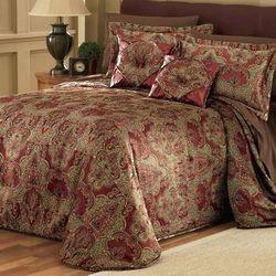 Juliet Jacquard Queen Bedspread