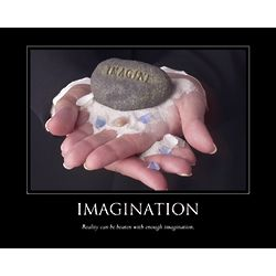 Imagination Personalized Print