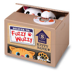 Fuzzy Wuzzy Motorized Bank