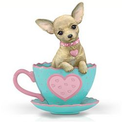 Just My Cup of Tea Chihuahua Figurine