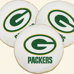 NFL Green Bay Packers Cookies