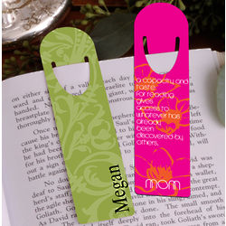 Personalized Bookmark for Mom