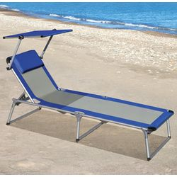 Canopied Lounger