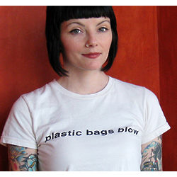 Plastic Bags Blow T-Shirt
