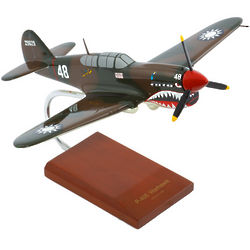 P-40E Warhawk Airplane Model