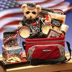 Get Your Motor Running Motorcycle Gift Basket