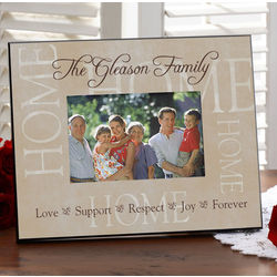 Sentiments of the Home Personalized Picture Frame