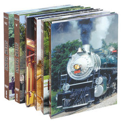 Steam Trains DVD Set