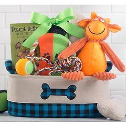 Happy Dog Pet Gift Basket