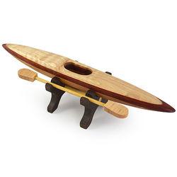 Wooden Kayak Desktop Sculpture