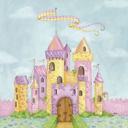 Fairy Castle Canvas Reproduction Wall Art