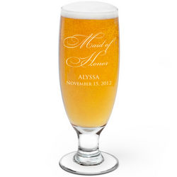 Maid of Honor Pilsner Beer Glass
