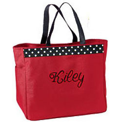 Monogrammed All Purpose San Mar Tote