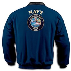 U.S. Navy Reversible Fleece Jacket