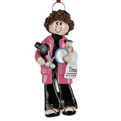 Hairstylist Personalized Christmas Ornament