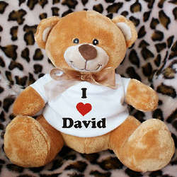 I Love You Personalized Teddy Bear