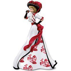 Vintage-Style Coca-Cola Girl Figurine