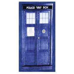 Dr. Who Tardis Towel