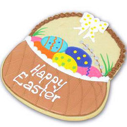 Giant Easter Basket Cookie Gift