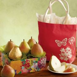 Mother's Day Pears in Reusable Tote Bag