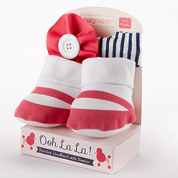 Ooh La La Parisian Headband and Booties