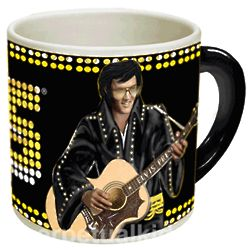 Timeless Elvis Heat Sensitive Mug