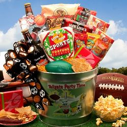 Tailgate Party Time Snack Pail