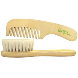 Infant's Brush and Comb