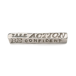 Be Bold Take Action Paperweight