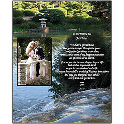 Wedding Gifts For Brother Getting Married : Personalized Wedding Poem For Brother Wedding Gift For Brother .
