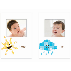 Happy and Sad Baby Frame Set