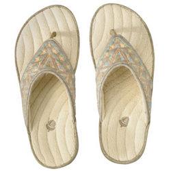 Women's Shimmer Thong Slippers