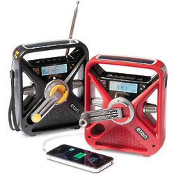 Hand Crank Radio and Phone Charger