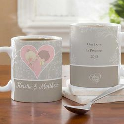 Couples Personalized Romantic Coffee Mug