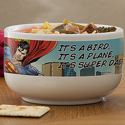 Personalized Superman Cereal Bowl