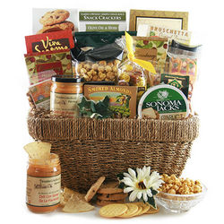 Party Pleaser Food Gift Basket
