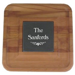 Cheese and Cracker Tray with Slate Insert