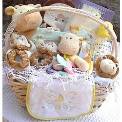 Noah's Ark Baby Gift Basket