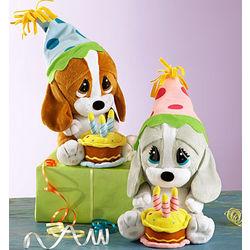 Sad Sam or Honey Stuffed Animal with Happy Birthday Tune