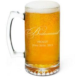 Bridesmaid Beer Mug
