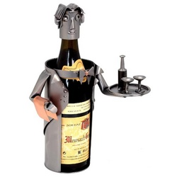 Handmade Waiter Wine Caddy