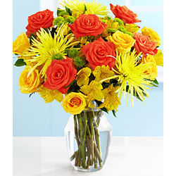 Deluxe Sunshiny Days Bouquet of Flowers