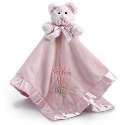 Pink ABC Bear Blankie